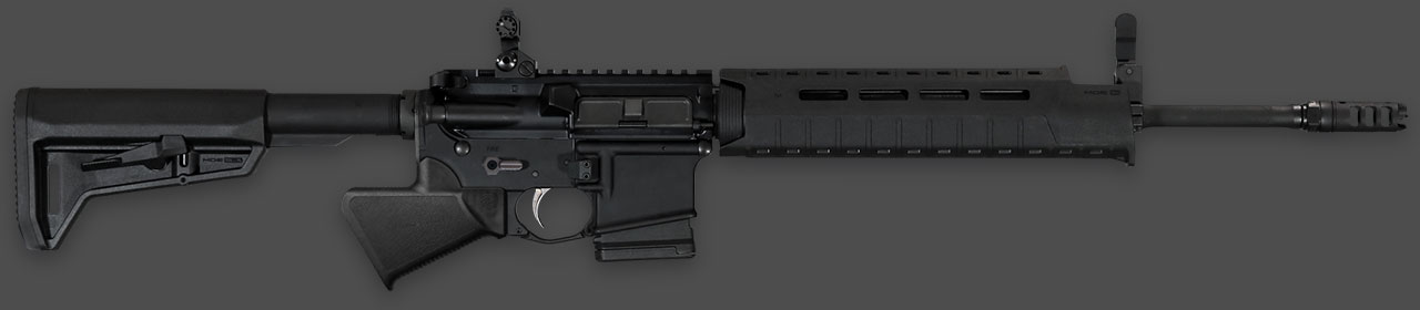 Modern Featureless Rifle Grip Stock