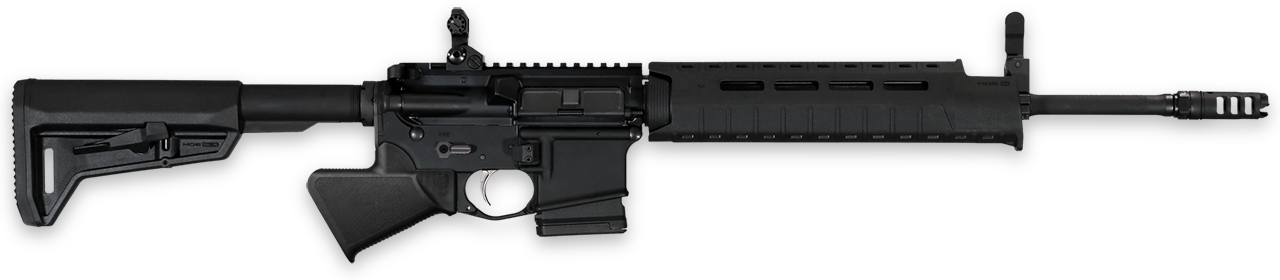 Sparrow Dynamics Featureless Rifle Grip on transparent background