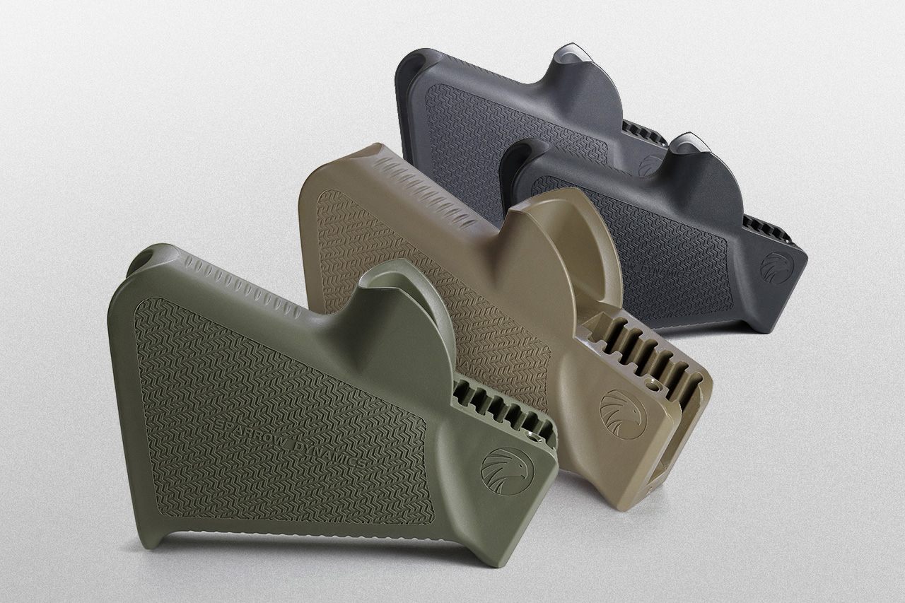 Sparrow Dynamics Featureless Rifle, Grip California Legal, production in 4 colors